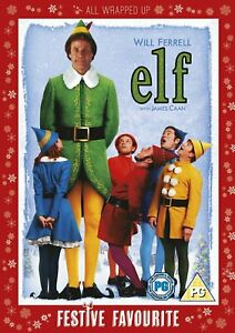 Elf DVD 2 Disc Limited Edition - All Wrapped Up Festive Edition - Free P&P