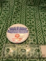 Miles Of Smiles Dream Drive United Way Services Pin Button FREE SHIPPING