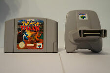 Pokemon Stadium con Transfer Pack  n64 nintendo 64 NUS-006 ESP original