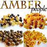Authentic Baltic Amber Holed Loose Round Beads 10-20g Raw & Polished 4-6mm Beads