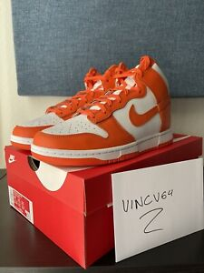 "Nike Dunk High ""Syracuse"" (2021) Mens Size 10"