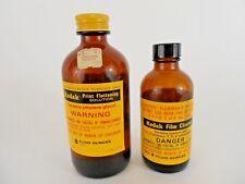 Vintage Kodak Film Cleaner Bottle Print Flattening Sol Darkroom Photo Developing