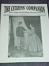 The Citizens' Companion: Civil War Civilian Reenacting, Ballroom Dancing, Food