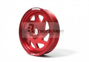 Perrin Red Lightweight Crank Pulley for 12-14 Impreza   PSP-ENG-101RD