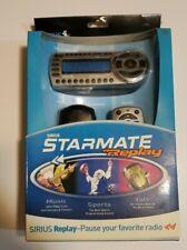 SIRIUS Starmate Replay ST2R Satellite Radio Receiver & Car Kit  Wireless FM New