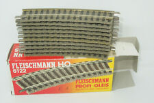 Fleischmann H0 6127 Neuware Radius R2 18° Halbes gebogenes Gleis