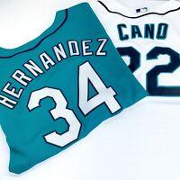 Seattle Mariners Felix Hernandez #34 Cano #22 Jersey Child Large Majestic Brand