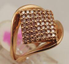 18 karat yellow gold, size #9 DIAMOND RING