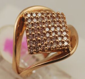 18 karat yellow gold, size #9 DIAMOND RING