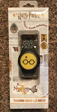 Harry Potter Flashing Cover LCD Watch Gryffindor Harry-Ron-Hermoine NEW!