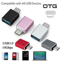 USB-C 3.1 Male to USB A Female Adapter Converter OTG Type C Android Phone new