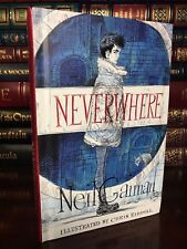 Neverwhere Illustrated Edition ✎SIGNED✎ by NEIL GAIMAN New Hardback 1st Printing