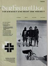 DER FREIWILLIGE 7/1973    WH/HIAG/SOLDAT/KRIEG