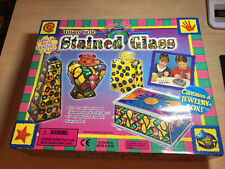 Vintage Tiffany Style Imagine Nation Stained Glass Kit Open Box