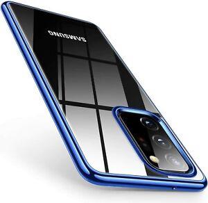 Silikon Handy Hülle für Samsung Note 20 /Ultra Case Cover Klar Schutzhülle Glas