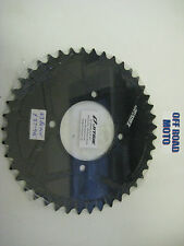 Trials Bike Jitsie Solid Type Rear Sprocket BLACK, All Sizes!! 41-44T. **FIM**