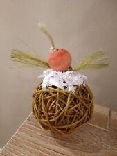 Sticky Bun Stuffed Foraging Ball - Natural Pet Rabbit Bunny Toy