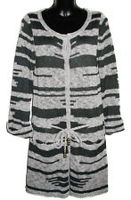 MIKE GONZALEZ  Womens Cardigan Gray Size M