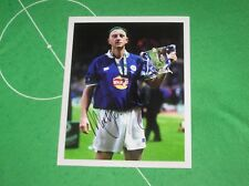 Matt Elliott Signed Leicester City 2000 League Cup Final Winners Photograph