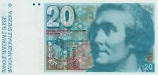 More details for p55b switzerland 1980 20 franken banknote in near mint condition.