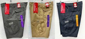 Unionbay Men's Cargo Short Relaxed Fit Flex Waist Stretch Fabric Shorts - NWT
