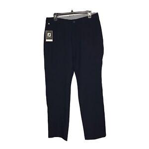 Footjoy Performance Slim Fit Wicking Golf Pants Men's 33X30 Navy NWT