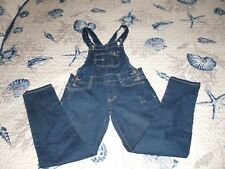 Girl's~Jordache~Over -roles Jumper Denim Adjustable Straps size 7/8 Super Cute!