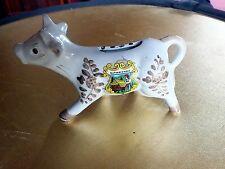 Vintage china cow creamer Schwarzwald Germany  pottery animal