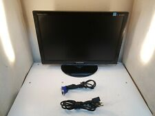 """Samsung SyncMaster 2253LW 21.6"""" LCD Monitor w/Power Cord, VGA Cord, Stand"""