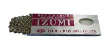 """IZUMI CHAIN 1/2"""" x 1/8"""" SILVER"""