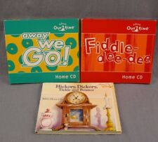 Kindermusik Lot of 3 cd's Kinder Musik CD Collection Hickory Dickory Fiddle Dee