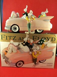 "Fitz and Floyd  ""Sock Hoppers Musial Car""  tune ""Let Me Call You Sweetheart"" BOX"