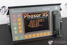 GE Inspection Phasor XS 16:64 CV/DM Phased Array Flaw Detector Krautkramer NDT