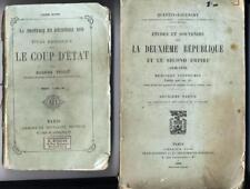 deuxieme republique second empire 1848-1870 coup d'etat 1851