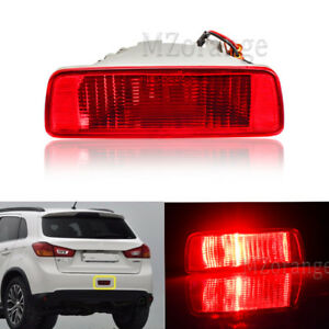 Rear Tail Bumper Fog Lamp Light Reflector For Mitsubishi ASX RVR Outlander Sport