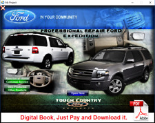 FACTORY REPAIR SERVICE MANUAL FOR FORD EXPEDITION - NAVIGATOR 2007 - 2008
