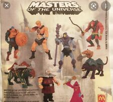 He-Man Mcdonalds Happy Meal Figures Masters of the Universe 2003