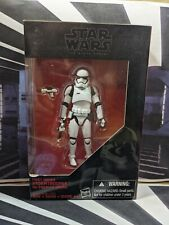 "HASBRO 2016 STAR WARS BLACK SERIES 3 3/4"" 1ST ORDER STORMTROOPER FIGURE NEW MISB"
