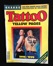 TATTOO YELLOW PAGES N. 5 LUGLIO / AGOSTO 1998