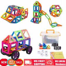64Pcs Diy Magnetic Tiles Magnetic Building Blocks Toys Kids Educational Block Us
