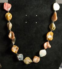Multi Colour Shell/Mother of Pearl Necklace