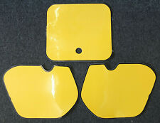 Number Backgrounds Honda CR 250 500 1985-1986 YELLOW CR125 CR250 CR500 Decals