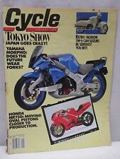 Vintage Cycle Magazine January 1990 Motorcycle Yamaha Morpho Honda NR750
