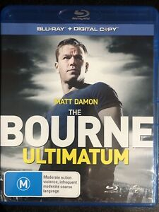 The Bourne Ultimatum Blu-ray