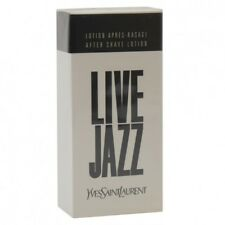 Live Jazz Yves Saint Laurent YSL 50ml After Shave Lotion Sealed Box Rare Genuine