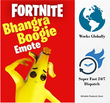 Fortnite Bhangra Boogie Emote - Rare Limited  Edition [PC/Xbox & PS4]