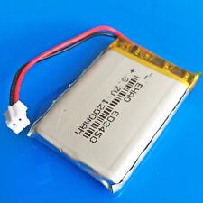 3.7V Li po Battery 1200mAh battery For PAD MP4 DVD Camera GPS 603450 JST 2.0mm