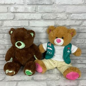 Build A Bear Girl Scouts Thin Mint Cookies Bear In Girl Scout Uniform
