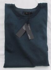 LADIES MARKS AND SPENCER AUTOGRAPH PEACOCK SLEEVELESS TIE SIDE JUMPER SIZE M