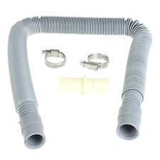 2M Washing Machine Dishwasher Drain Waste Hose Extension Pipe Kit